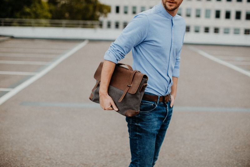messenger laptoptasche grau kjer