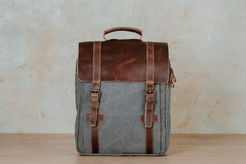 Mika backpack grey