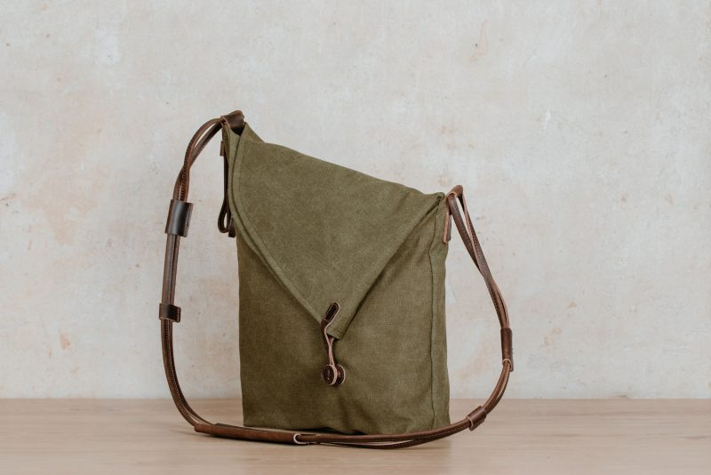 Northern Lights Smilla shoulder bag green sideways