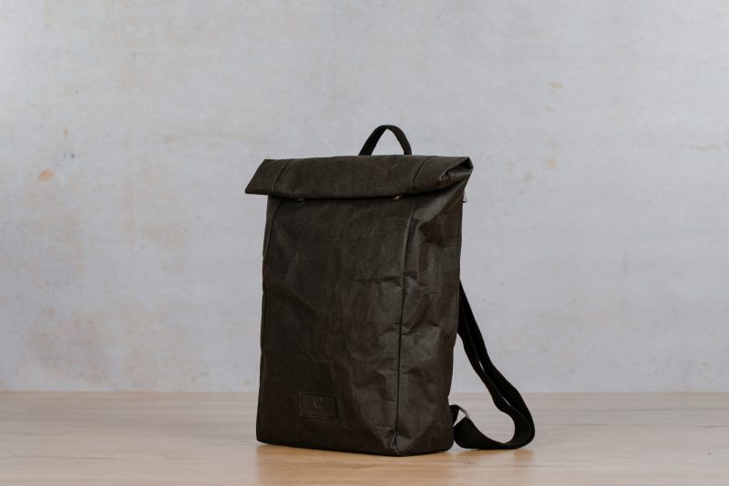 paper backpack northern light black