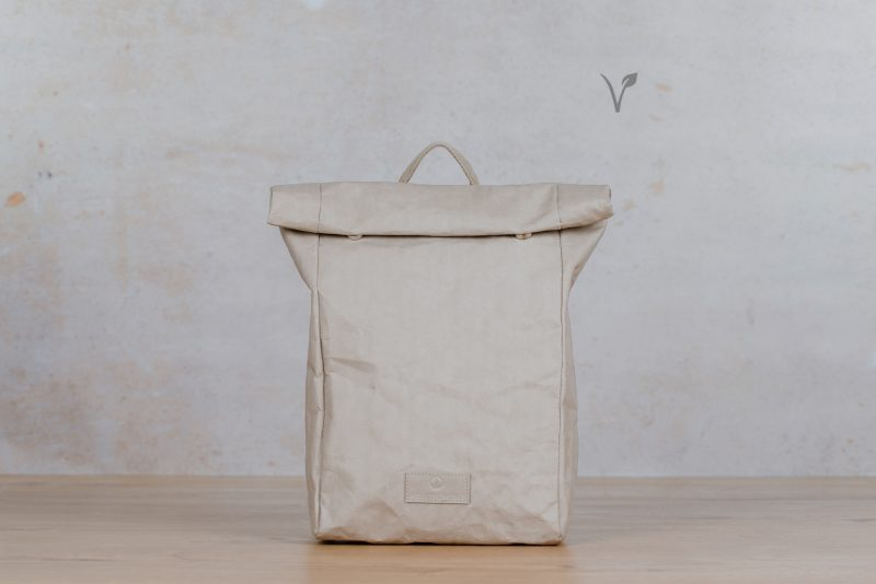 paper backpack northern light light grey
