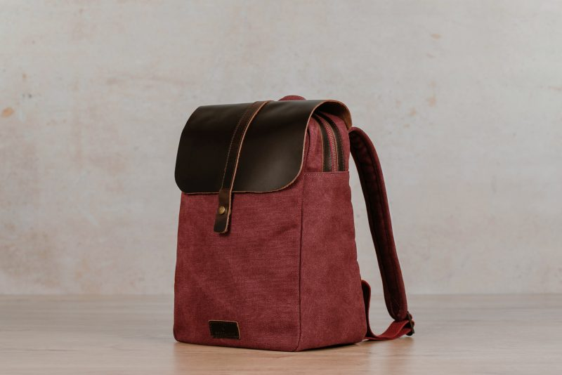 Northern Lights Backpack Friis Dark Red