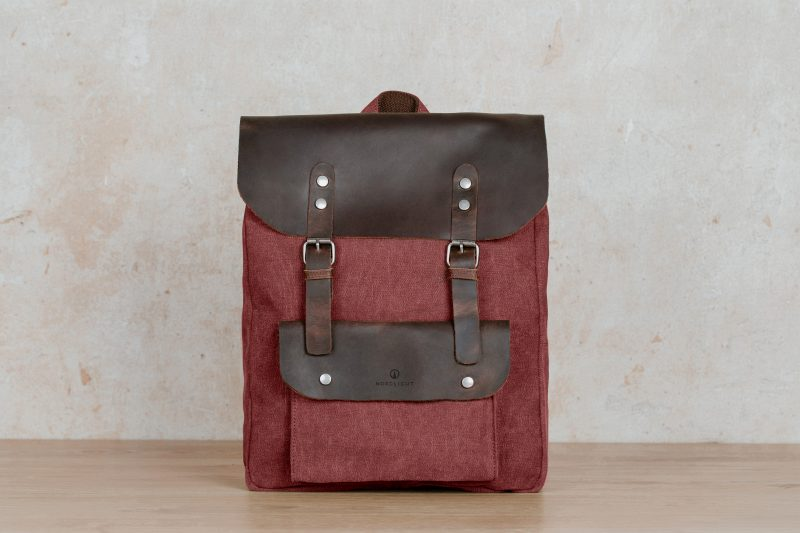 jasper backpack dark red