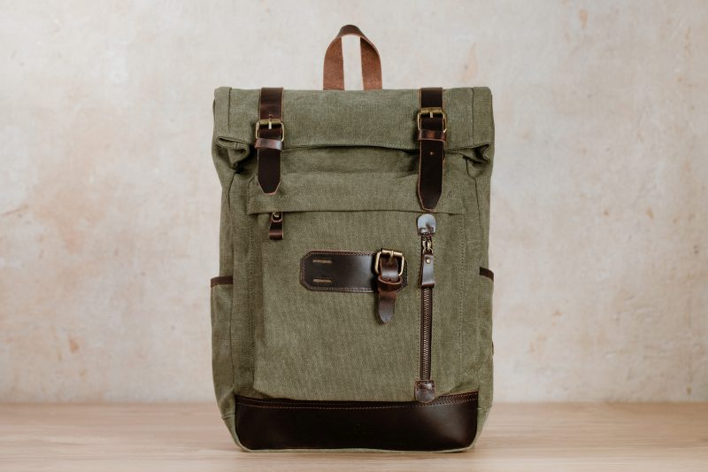 northern light yva backpack green