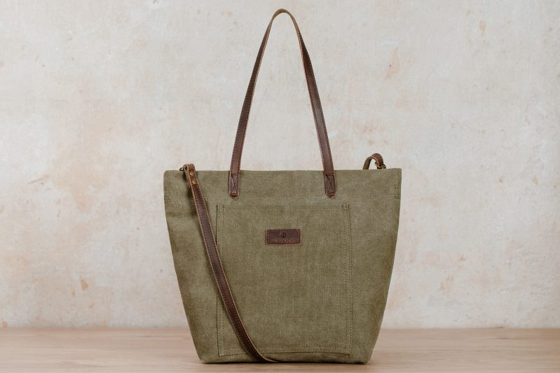 northern light bag finja green