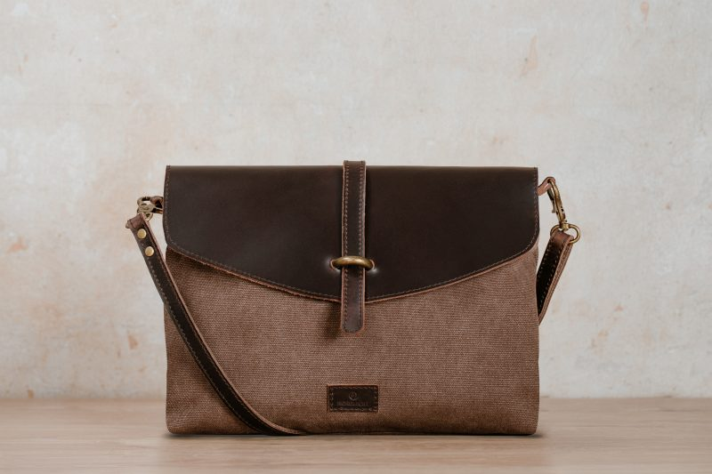kaia brown Nordlicht handbag