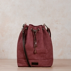 janna rouge bucket sac au nord voile voile